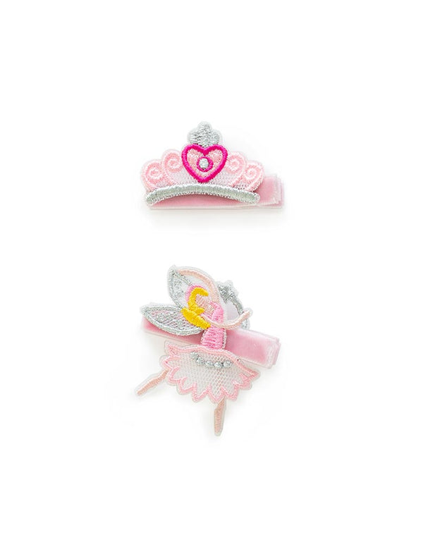 Sweet Princess Hair Clips Set