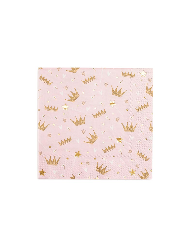 Sweet Princess Napkins (Set of 16)