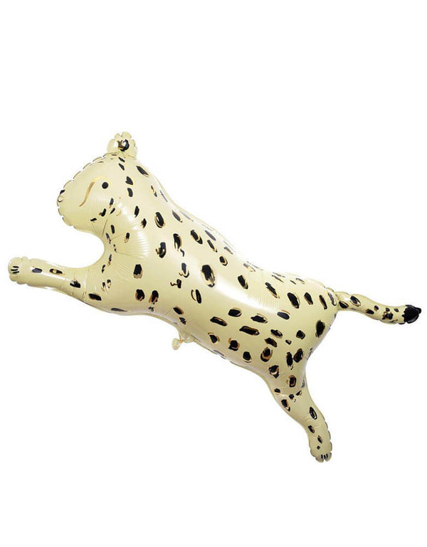 Meri Meri Safari Cheetah Shaped Foil Mylar Balloon in 32""