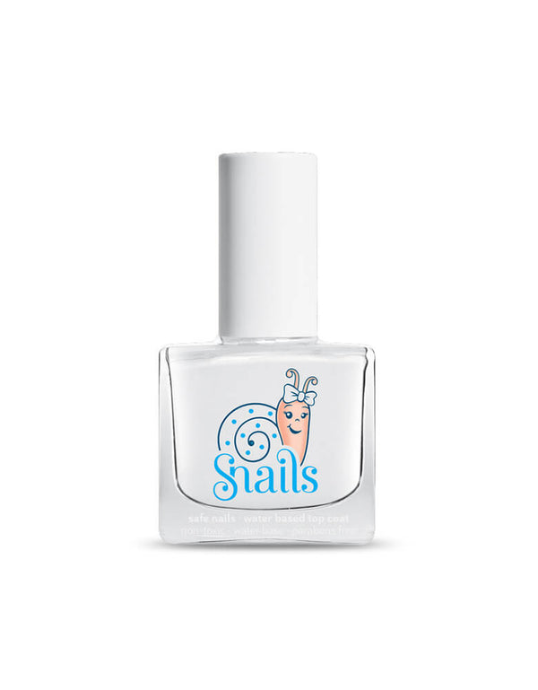 Snails Non-Toxic Top Coat. Wonderful washable nail polish for kids, Made in France