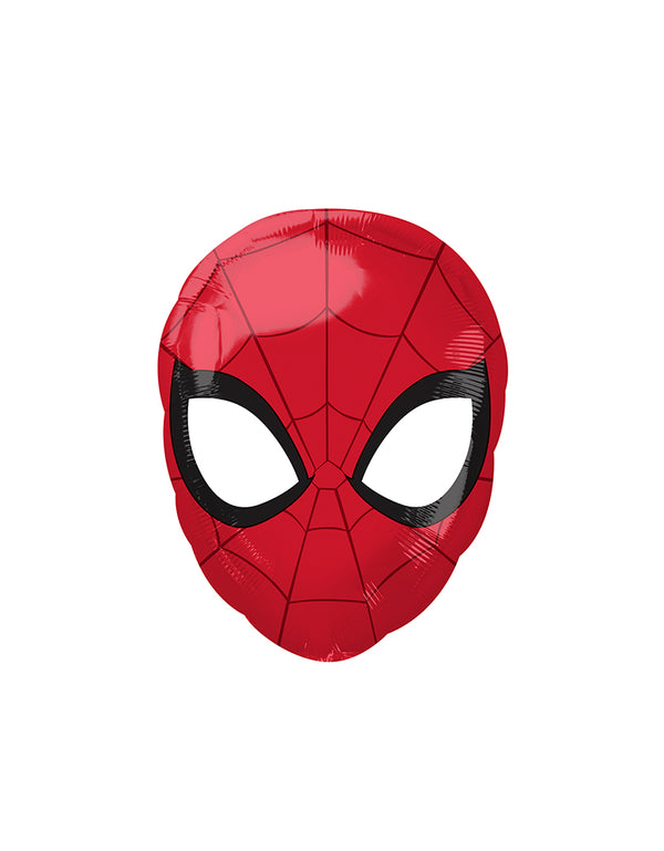 lAnagram Balloons 34669 Spider-Man Animated Standard Shape XL foil balloon. Make the little one's superhero birthday party an action-packed time with this junior sized 17inch Marvel Spider-Man head foil balloon!