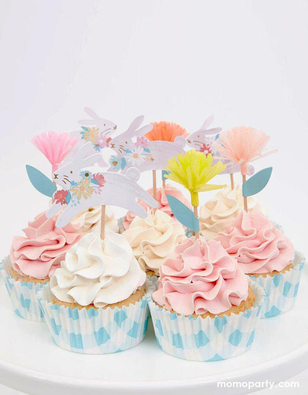 Spring Bunny Cupcake Kit (Set of 24)