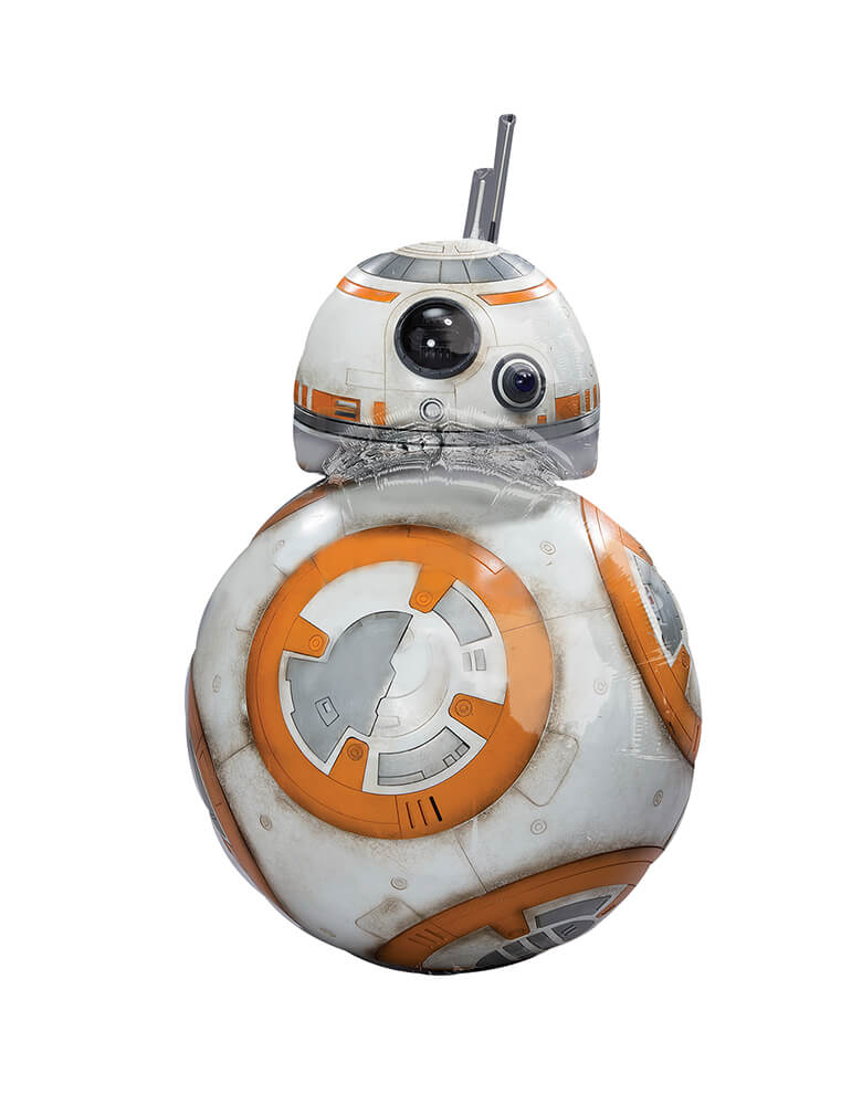 Star Wars BB8 Foil Mylar Balloon