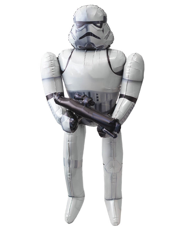 "Anagram 70"" Star Wars Stormtrooper AirWalker Foil Balloon"