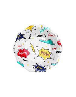 Day Dream Socity Superhero Party Small Paper Plates