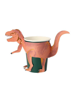 T-Rex Party Cups (Set of 8)