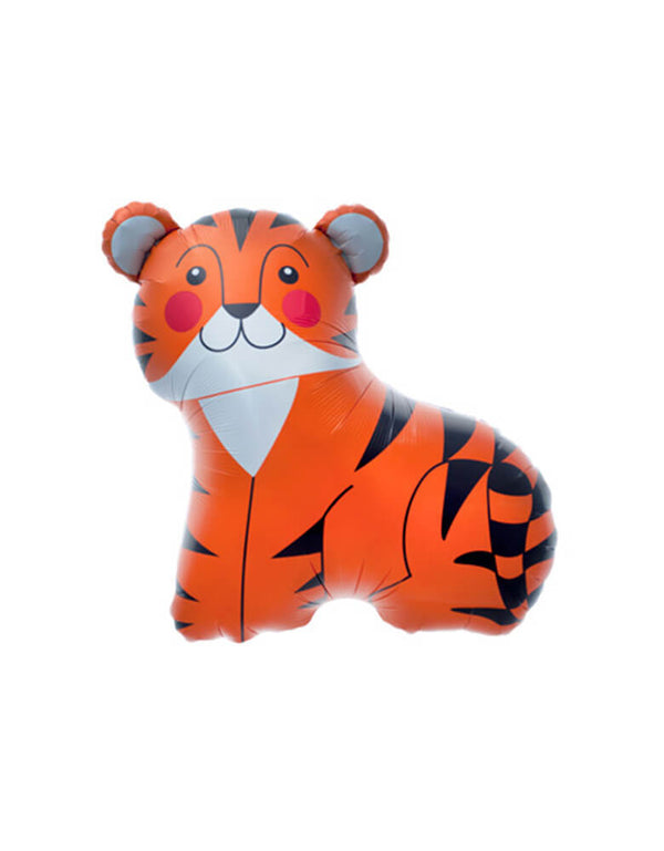 "Northstar 33"" Tiger Foil Mylar Balloon"