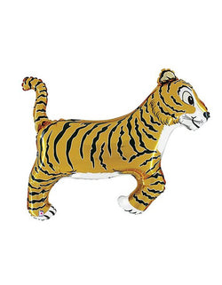 "Betallic 41"" Tiger Shaped Foil Mylar Balloon"