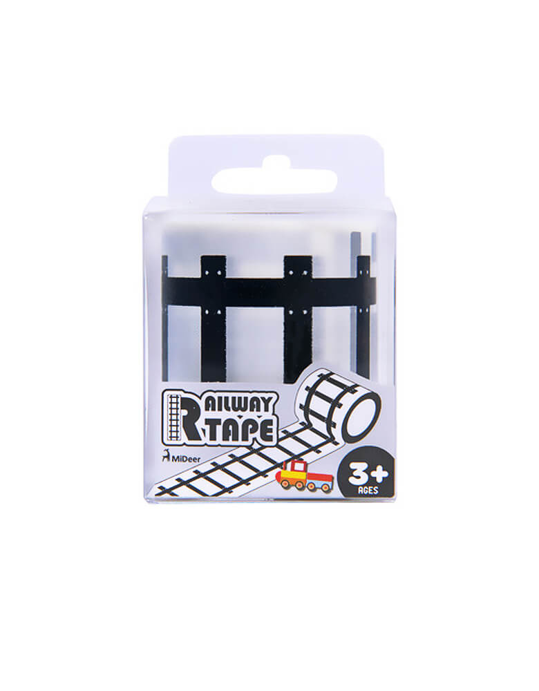 Mideer Railway Tape, Train Track Tape in a single package, great gift for little train lover