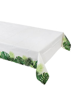 Talking Tables Tropical Fiesta Palm Leaf Table Cover for a jungle party