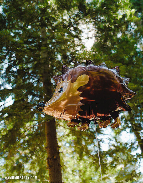 30 inches Hedgehog-Foil-Mylar-Balloon in the wood