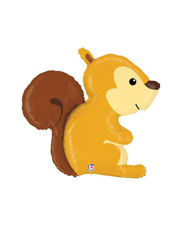 "36"" Foil Shape Balloon Woodland Squirrel"