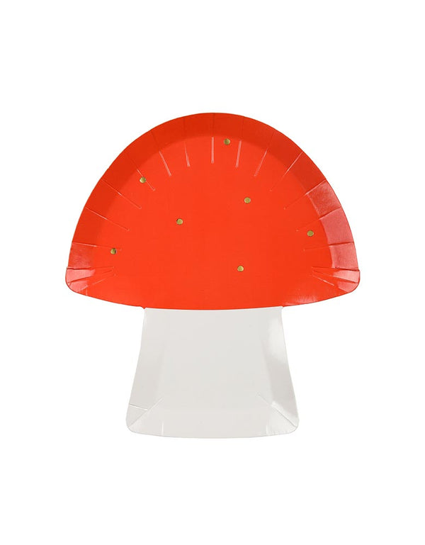 Toadstool Large Plates (Set of 8)