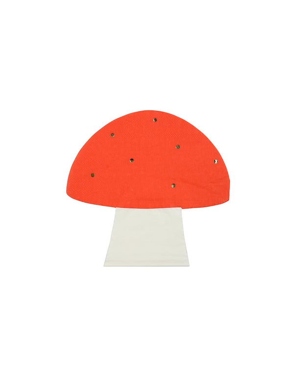 Toadstool Napkins (Set of 16)