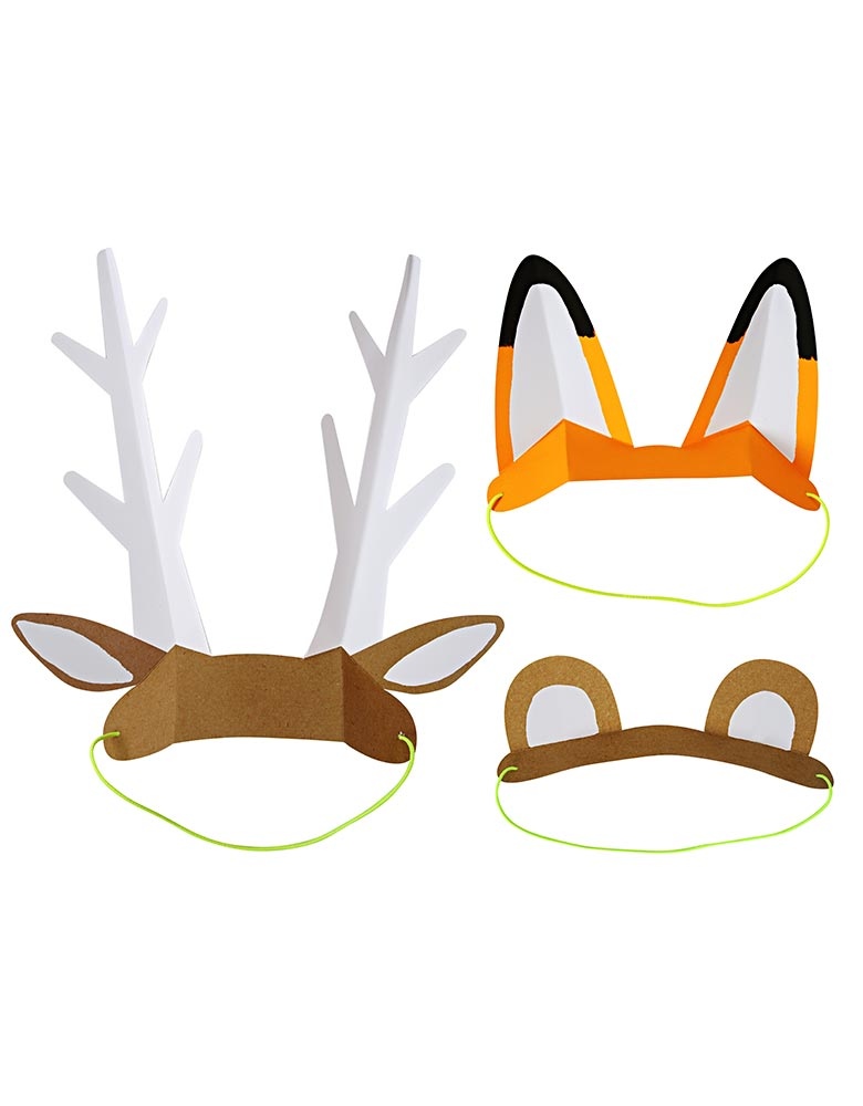 Meri Meri Woodland Paper Animal Ears