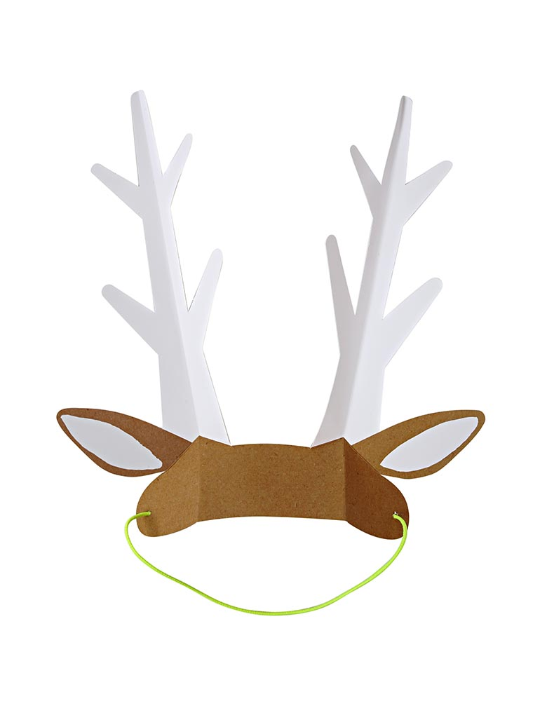 Woodland Paper Deer Ears Party Hat