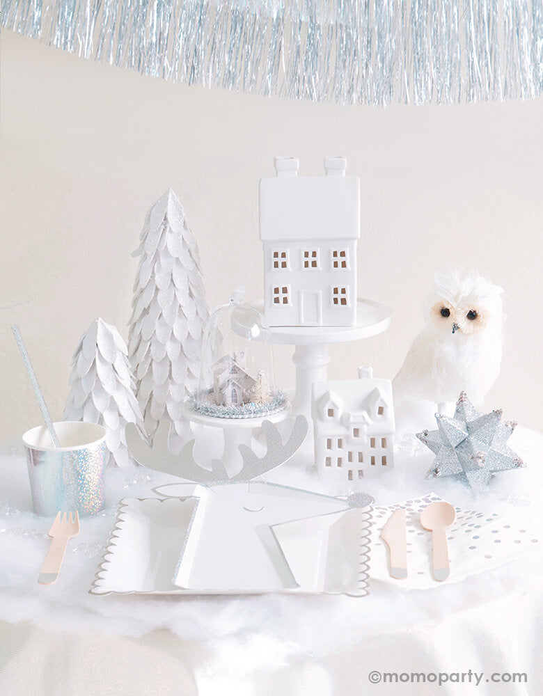 White Christmas Holiday Boxes