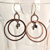 $36 - Full Moon Earrings