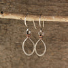 $25 - Tear Drops - Silver & Copper - Small