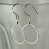 $22 - Simply Twisted Hoops - Silver - Medium
