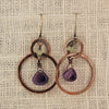 $33 - Lavender Mist Earrings