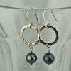 $33 - Iridescent Moon Earrings