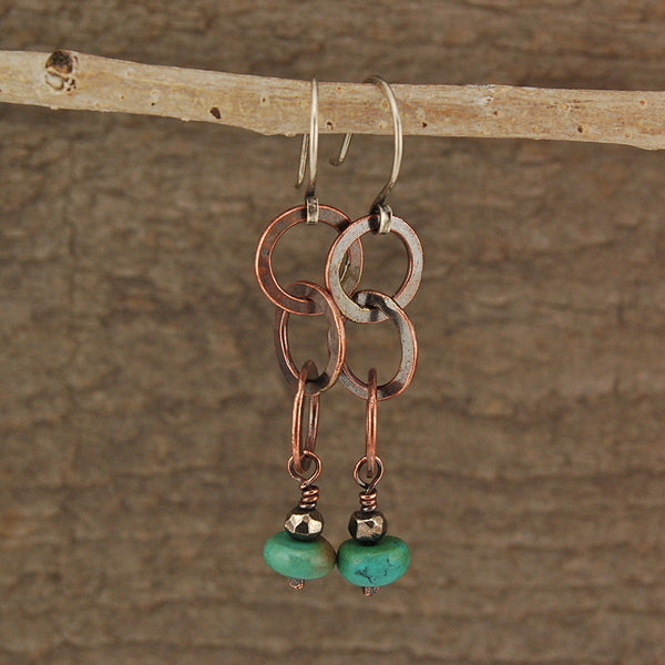 $33 - Forest Rain Earrings
