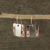 $29 - Metal Boxes Earrings