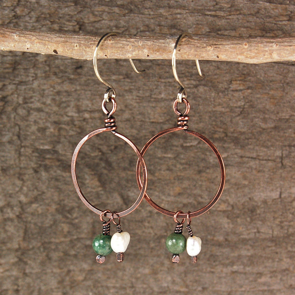 $33 - Beach Grass Hoops