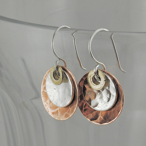 $33 - Harvest Moon Earrings