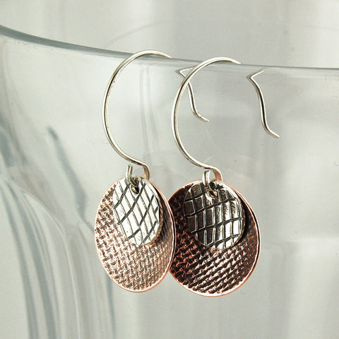 $33 - Beach Sunset Earrings