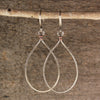 $34 - Tear Drops - Silver & Copper - Grande