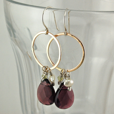 $42 - Spring Evening Earrings