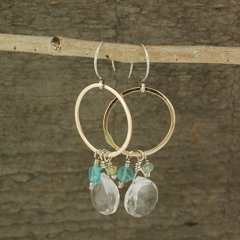 $42 - Mystic River Earrings