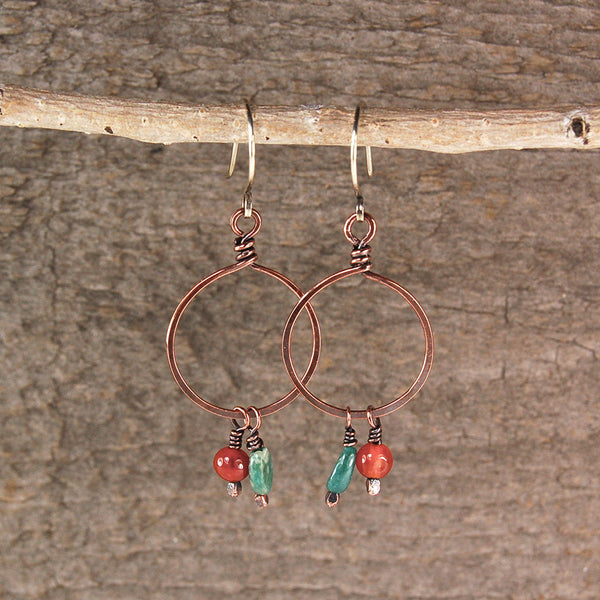 $33 - Mountain Forest Hoops