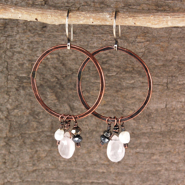 $36 - Winter Ice Earrings