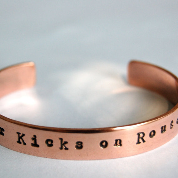 Get Your Kicks on Route 66 Cuff