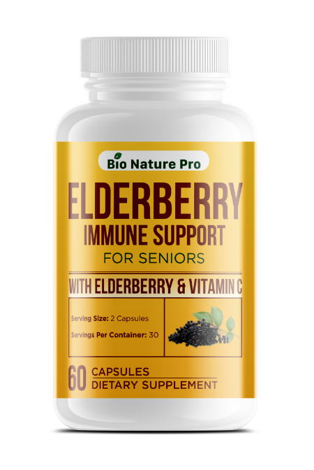 Elderberry Immune Support for Seniors