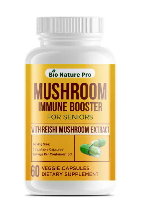 Mushroom Immune Booster for Seniors