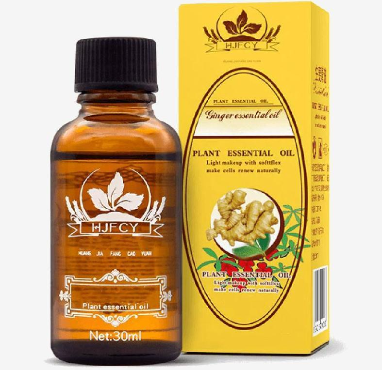 Powerful Ginger Oil - Lymphatic Drainage