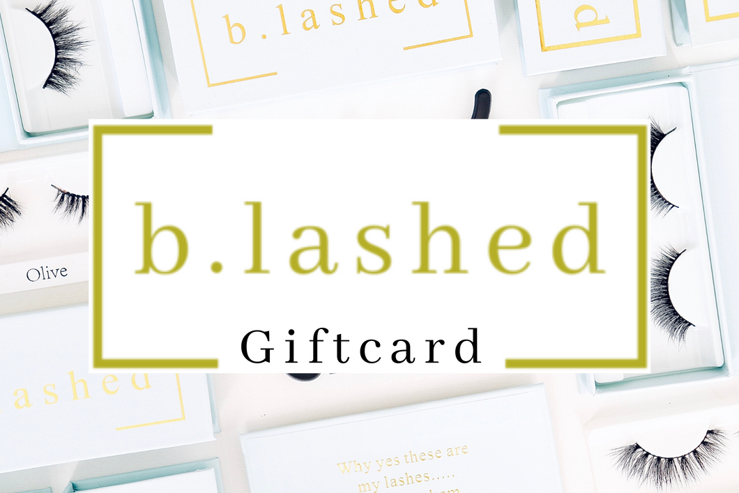 b.lashed Gift card (4402241142826)