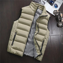 Vest Men New Stylish Spring Autumn Warm Sleeveless Jacket