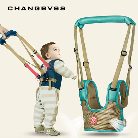 Baby Walker Assistant with Handheld Safety Harness/Leash