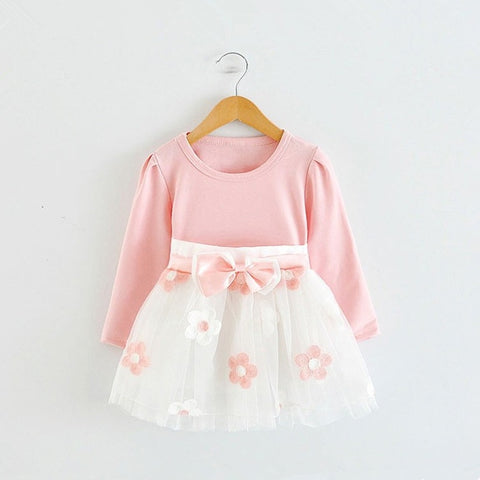 Baby Girl Long Sleeves Dress