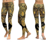 Unique Printed Women Yoga Workout Legging