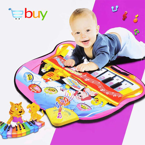 Large Baby Musical Piano Play Mat with Keyboard