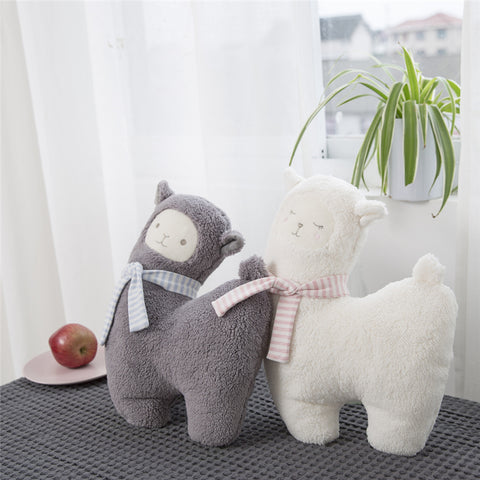 Large Soft &  Huggy Plush Kawaii Alpaca Pillow