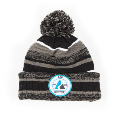 ABO Outfitters Patch Winter Beanie Blue/White