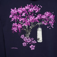 'Blossom Tree' Hoodie (Navy) WAS £45 - NOW £27