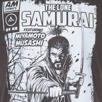 'The Lone Samurai' (Charcoal Grey or Jet Black)